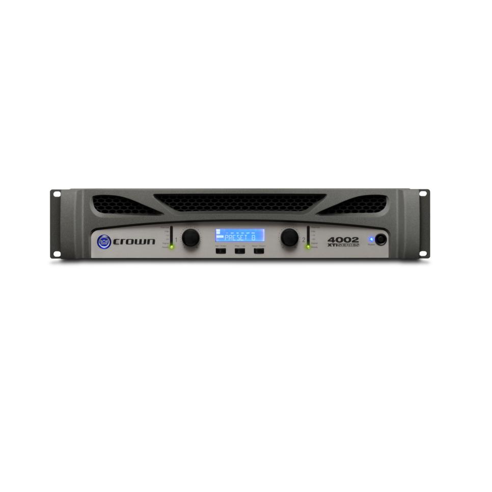 Crown XTi 4002 - Two-channel, 1200W @ 4Ω Power Amplifier