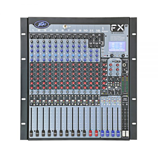 Peavey FX2 16 - 16 Channel Live Sound Mixer w/Powerfull DSP Engines
