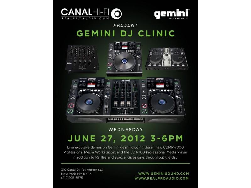 Gemini DJ Clinic