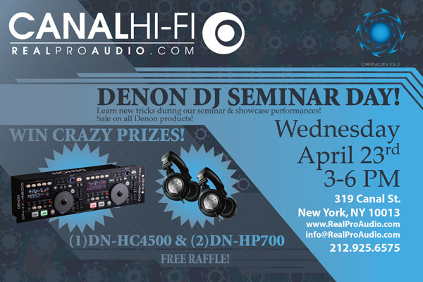 Denon DJ Seminar Day
