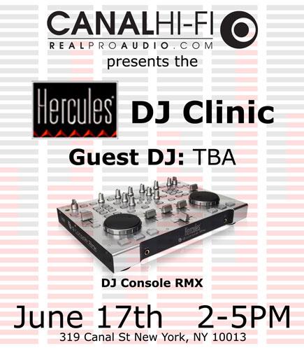 Hercules DJ Clinic