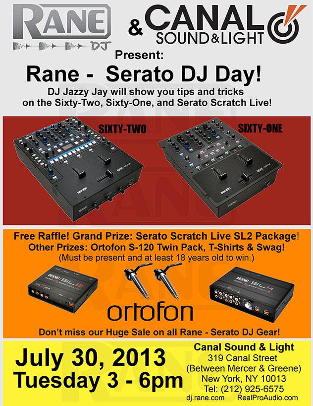 Rane-Serato DJ Day
