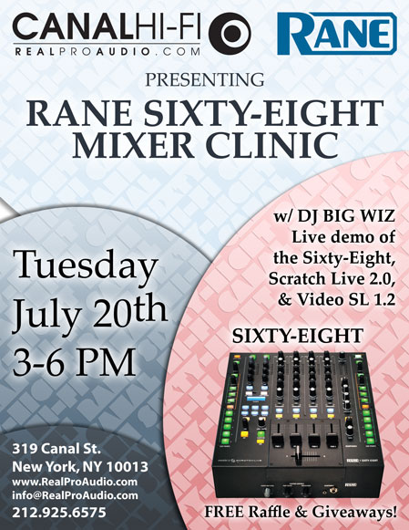 Rane Sixty-Eight Clinic