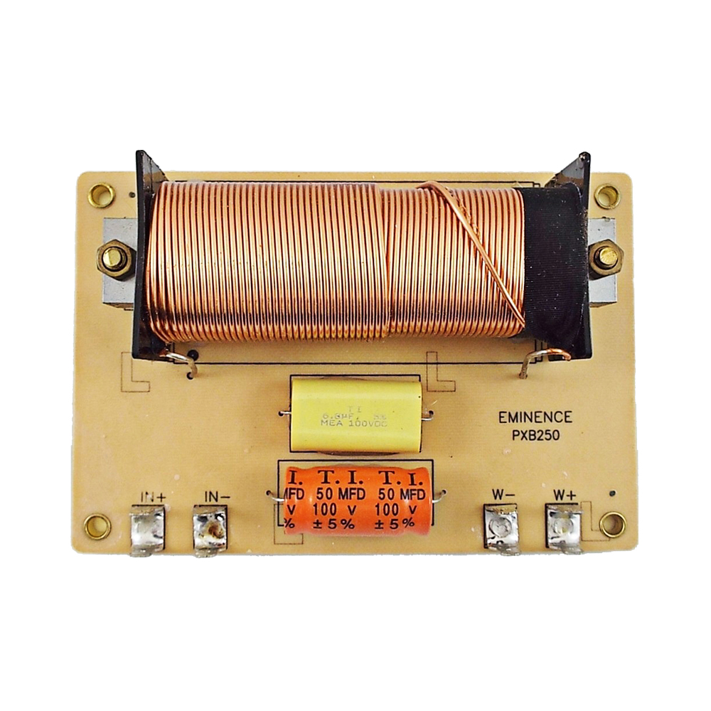 Eminence PXB3:5K0 3-Way Speaker Passive Crossover Board 500//5,000 Hz