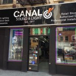 Canal Sound & Light Storefront