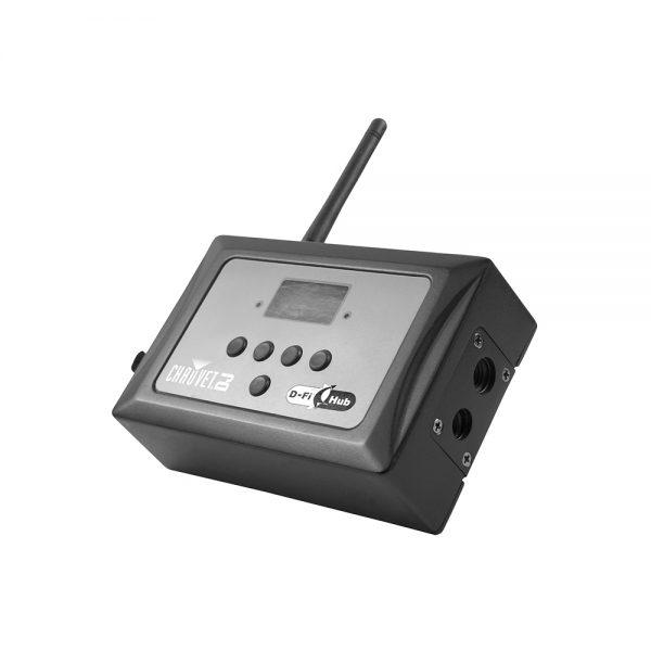 CHAUVET DJ D-Fi Hub Rental - Compact Easy Wireless DMX 2 4 GHz Transceiver