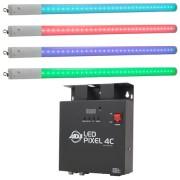 ADJ LED Pixel Tube 360 System 4 Pack