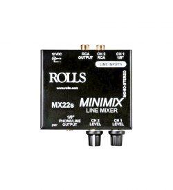 Rolls Audio MX22S Mini Mix