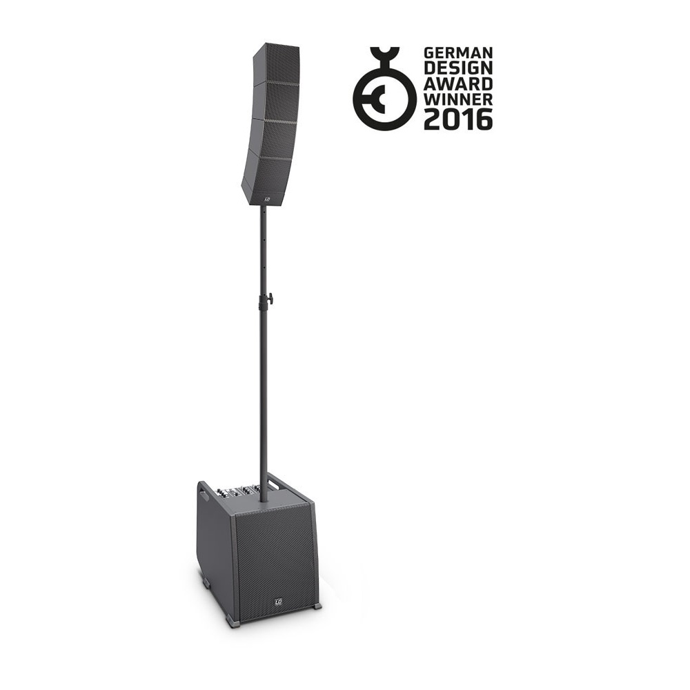 LDCURV500STS Distance Bar LD Systems Curv500STS-Stereo Set-Smartlink Adapter Speaker Stand and Cable
