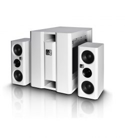LD Systems Dave 8 XS W - Compact Active PA System (White)