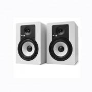 Fluid Audio C5 Amplified Studio Monitors, White (Pair)