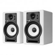 Fluid Audio F5 Active Monitors, White (Pair)