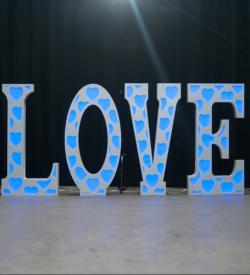 Eliminator Lighting Decor Love