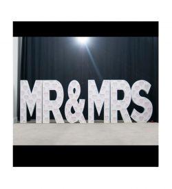 Eliminator Lighting Decor Mr & Mrs
