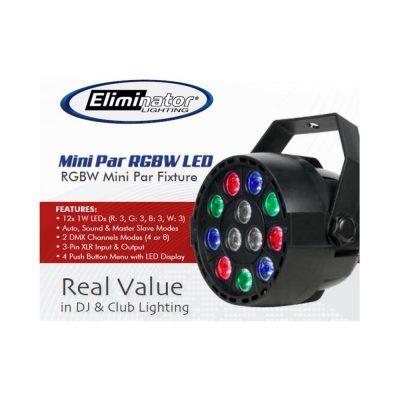 Eliminator Lighting Mini Par RGBW LED