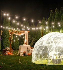 Backyard Igloo 11.75 ft x 7.2 ft Outdoor Garden Igloo
